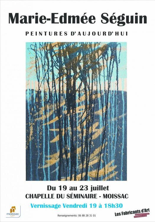 Peintures abstraites ,  méditations sur la nature,  la terre,  les herbes ,  les arbres,  le vent ,  la lumière  ...  Technique mixte , .